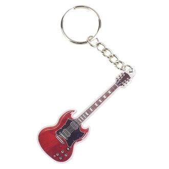 klíčenka (přívěšek)  SG Guitar - Rockbites, Rockbites