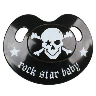 dudlík ROCK STAR BABY - Pirate, ROCK STAR BABY