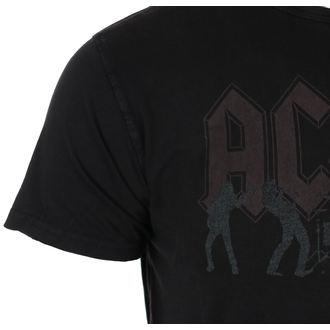 tričko pánské AC/DC - Vintage Silhouettes - Black - ROCK OFF, ROCK OFF, AC-DC
