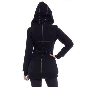 bunda dámská (kabátek) POIZEN INDUSTRIES - REAVER - BLACK, POIZEN INDUSTRIES