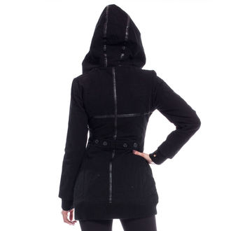 bunda dámská (kabátek) POIZEN INDUSTRIES - REAVER - BLACK - POŠKOZENÁ, POIZEN INDUSTRIES