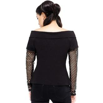 tričko dámské s dlouhým rukávem KILLSTAR - Rebelle Fishnet, KILLSTAR