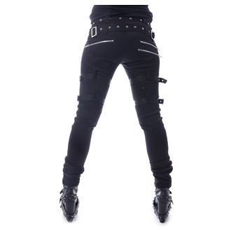 kalhoty dámské HEARTLESS - RESTRICTION - BLACK, HEARTLESS