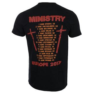 tričko pánské Ministry - Hot Rod - Black - ROCK OFF, ROCK OFF, Ministry