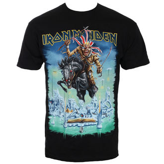 tričko pánské Iron Maiden - Tour Trooper - Black - ROCK OFF, ROCK OFF, Iron Maiden