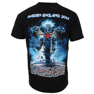 tričko pánské Iron Maiden - Tour Trooper - Black - ROCK OFF, ROCK OFF, Iron Maiden