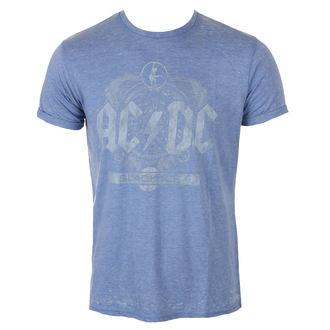 tričko pánské AC/DC - Black Ice - Mid Blue, ROCK OFF, AC-DC