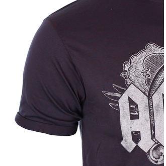 tričko pánské AC/DC - Black Ice - Navy/Red - ROCK OFF, ROCK OFF, AC-DC