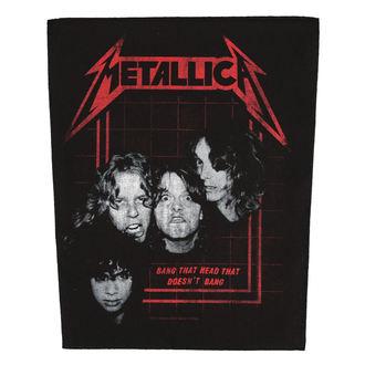 nášivka velká METALLICA - BANG THAT HEAD - RAZAMATAZ, RAZAMATAZ, Metallica