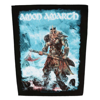 nášivka velká AMON AMARTH - JOMSVIKING - RAZAMATAZ, RAZAMATAZ, Amon Amarth