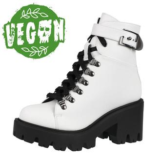boty dámské ALTERCORE - Enid - Vegan White, ALTERCORE