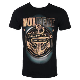 tričko pánské Volbeat - Anchor - Black - ROCK OFF - VOLTS04MB