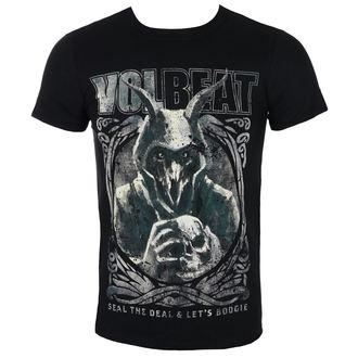 tričko pánské Volbeat - Goat With Skull - Black - ROCK OFF, ROCK OFF, Volbeat