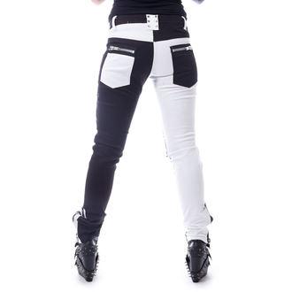 kalhoty dámské VIXXSIN - ROCKSTAR - BLACK/WHITE, VIXXSIN