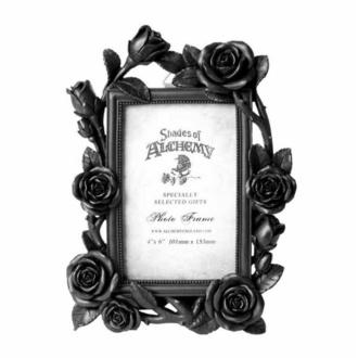 dekorace (fotorámeček) ALCHEMY GOTHIC - Rose & Vine - Black, ALCHEMY GOTHIC