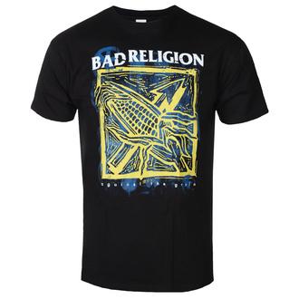 tričko pánské Bad Religion - Against The Grain - Black - KINGS ROAD, KINGS ROAD, Bad Religion