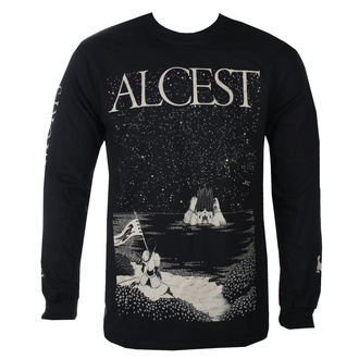 tričko pánské s dlouhým rukávem Alcest - Island - Black - KINGS ROAD, KINGS ROAD, Alcest