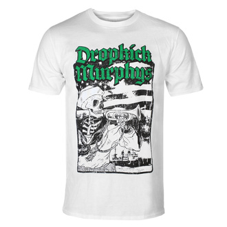tričko pánské Dropkick Murphys - Trumpeter - White - KINGS ROAD, KINGS ROAD, Dropkick Murphys