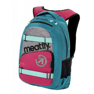 batoh MEATFLY - EXILE 3 J - Ht.Turquoise/Ht.Rose, MEATFLY
