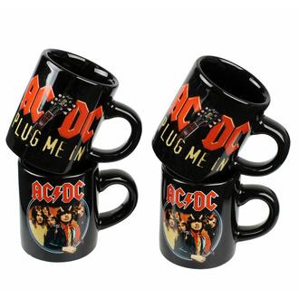 hrnek (sada 4 ks) AC/DC - ACDCMMUGSET01