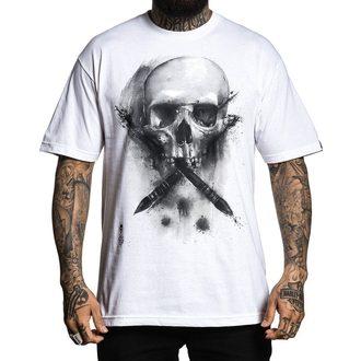 tričko pánské SULLEN - WATER BADGE - WHITE, SULLEN
