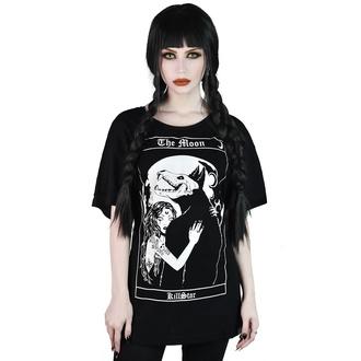 tričko dámské KILLSTAR - Wolfmoon Relaxed - BLACK - KSRA001860