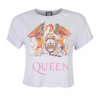 tričko dámské (top) QUEEN - COLOUR CREST - PURPLE PHAZE - AMPLIFIED, AMPLIFIED, Queen