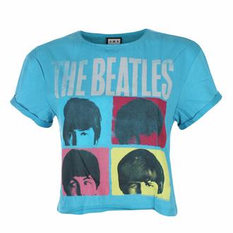 tričko dámské (top) THE BEATLES - HARD DAY'S NIGHT - TEAL PANTHER - AMPLIFIED, AMPLIFIED, Beatles