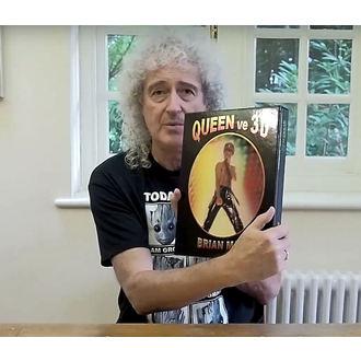 kniha QUEEN ve 3D - Brian May, NNM, Queen