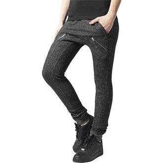 kalhoty dámské (tepláky) URBAN CLASSICS - Melange, URBAN CLASSICS