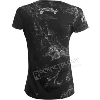 tričko dámské AMENOMEN - PENTAGRAM - WHITE, AMENOMEN