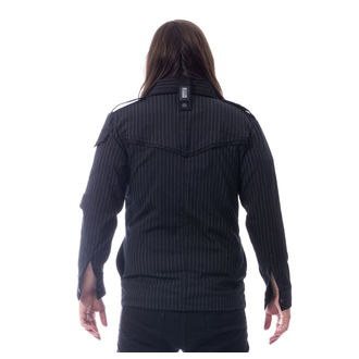 košile pánská Vixxsin - LESS - BLACK PINSTRIPE, VIXXSIN