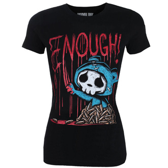tričko dámské AKUMU INK - ENOUGH!, Akumu Ink