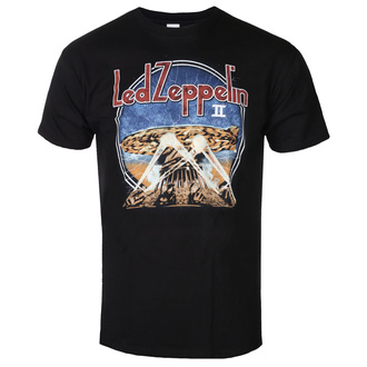 tričko pánské Led Zeppelin - LZII Searchlights - Black, NNM, Led Zeppelin