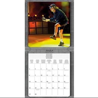 kalendář na rok 2021 - AC/DC, NNM, AC-DC