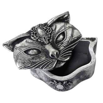 dekorace (krabička) ALCHEMY GOTHIC - Sacred Cat, ALCHEMY GOTHIC
