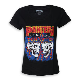 tričko dámské Pantera - Domination - ROCK OFF, ROCK OFF, Pantera