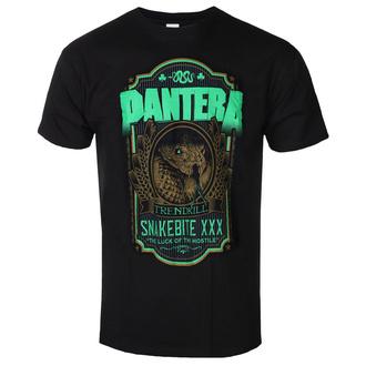 tričko pánské Pantera - Snakebite XXX Label - ROCK OFF - PANTS21MB