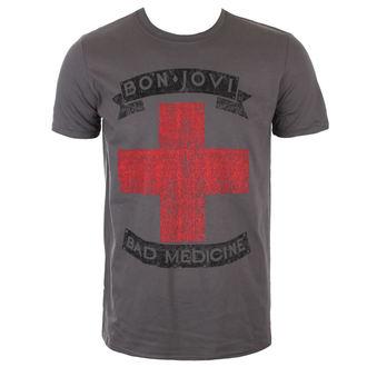 tričko pánské BON JOVI - BAD MEDICINE - PLASTIC HEAD, PLASTIC HEAD, Bon Jovi
