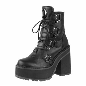 boty dámské KILLSTAR - Broom Rider - BLACK - KSRA004821