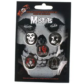placky Misfits - RAZAMATAZ, RAZAMATAZ, Misfits
