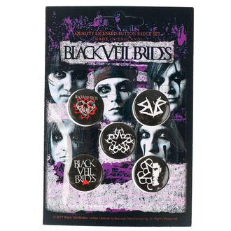 placky Black Veil Brides - RAZAMATAZ, RAZAMATAZ, Black Veil Brides
