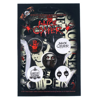 placky Alice Cooper - RAZAMATAZ