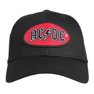 kšiltovka AC/DC - Oval Logo - ROCK OFF, ROCK OFF, AC-DC