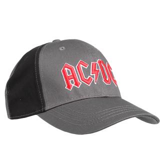 kšiltovka AC/DC - Red Logo - CHAR/BL - ROCK OFF, ROCK OFF, AC-DC