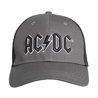 kšiltovka AC/DC - Black Logo - CHAR/BL - ROCK OFF, ROCK OFF, AC-DC