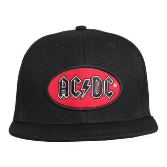 kšiltovka AC/DC - Oval Logo BL - ROCK OFF, ROCK OFF, AC-DC