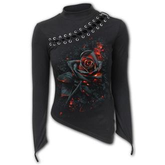tričko dámské s dlouhým rukávem SPIRAL - BURNT ROSE, SPIRAL