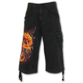 kraťasy pánské SPIRAL - FIRE DRAGON - Black, SPIRAL