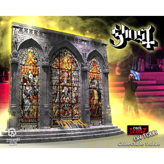 dekorace Ghost - On Tour Series Collectible Statue / Diorama Stage - KNUCKLEBONZ - KBGHOSTSTAGE100